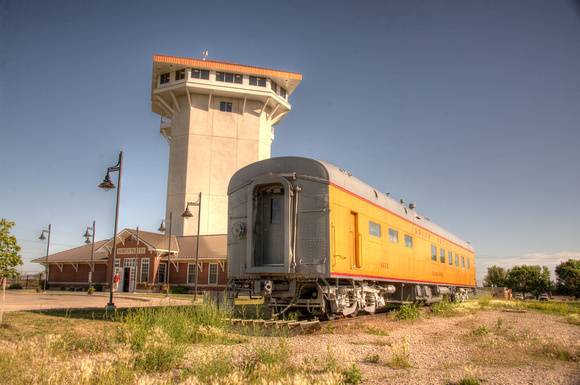 North Platte Golden Spike Tower and Bailey Yard  7278