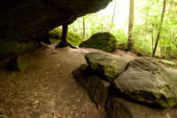 Dismals Canyon of Alabama, Kitchen area 8571
