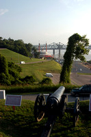 Photography of Vicksburg Mississippi, Vicksburg National Military Cemetery, Grand Gulf Military Monument