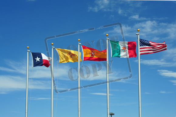 Flags of the El Camino Real Heritage Center 035