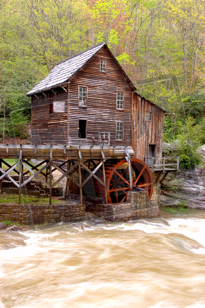 Babcock State Park Grist Mill  Southern West Virginia  near New River Gorge National Park 14