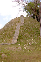 Belize Al Tun Ha temple ruins tourist steps Belize03